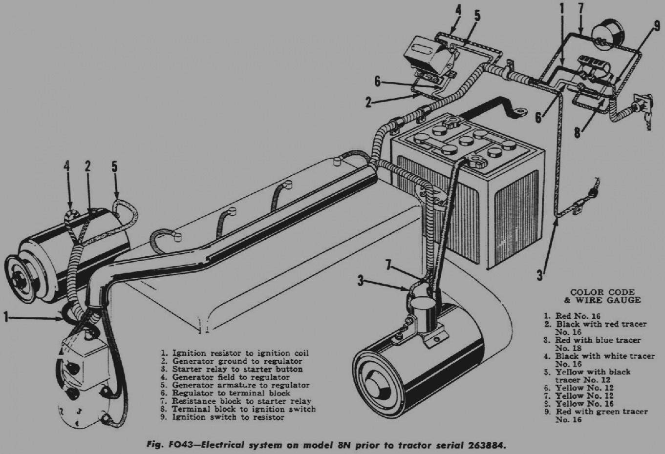 1947 ford 2n wiring diagram