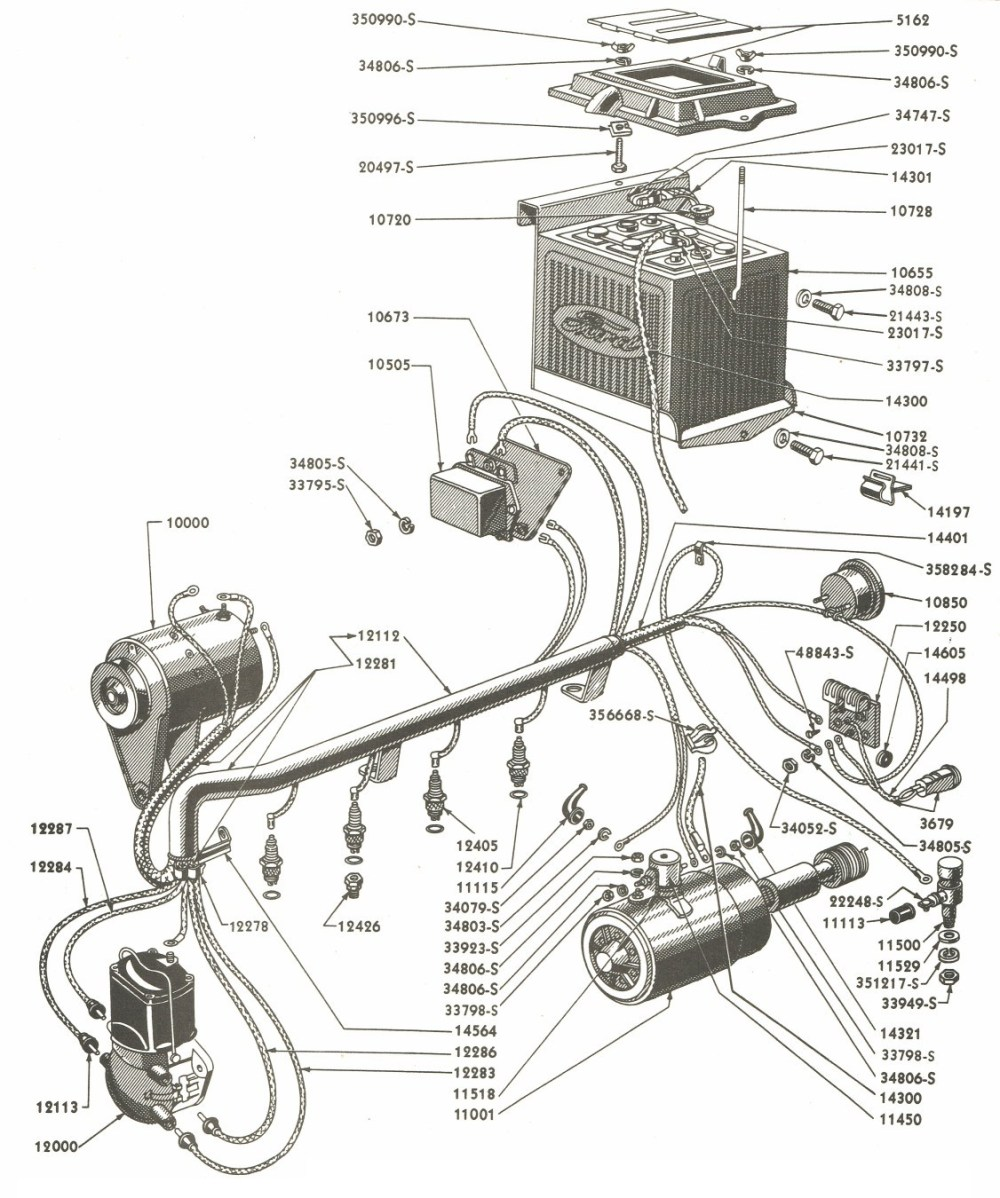 medium resolution of ford tractor wiring harness wiring diagram used ford 8n wiring harness diagram 12 volt 8n ford tractor wiring