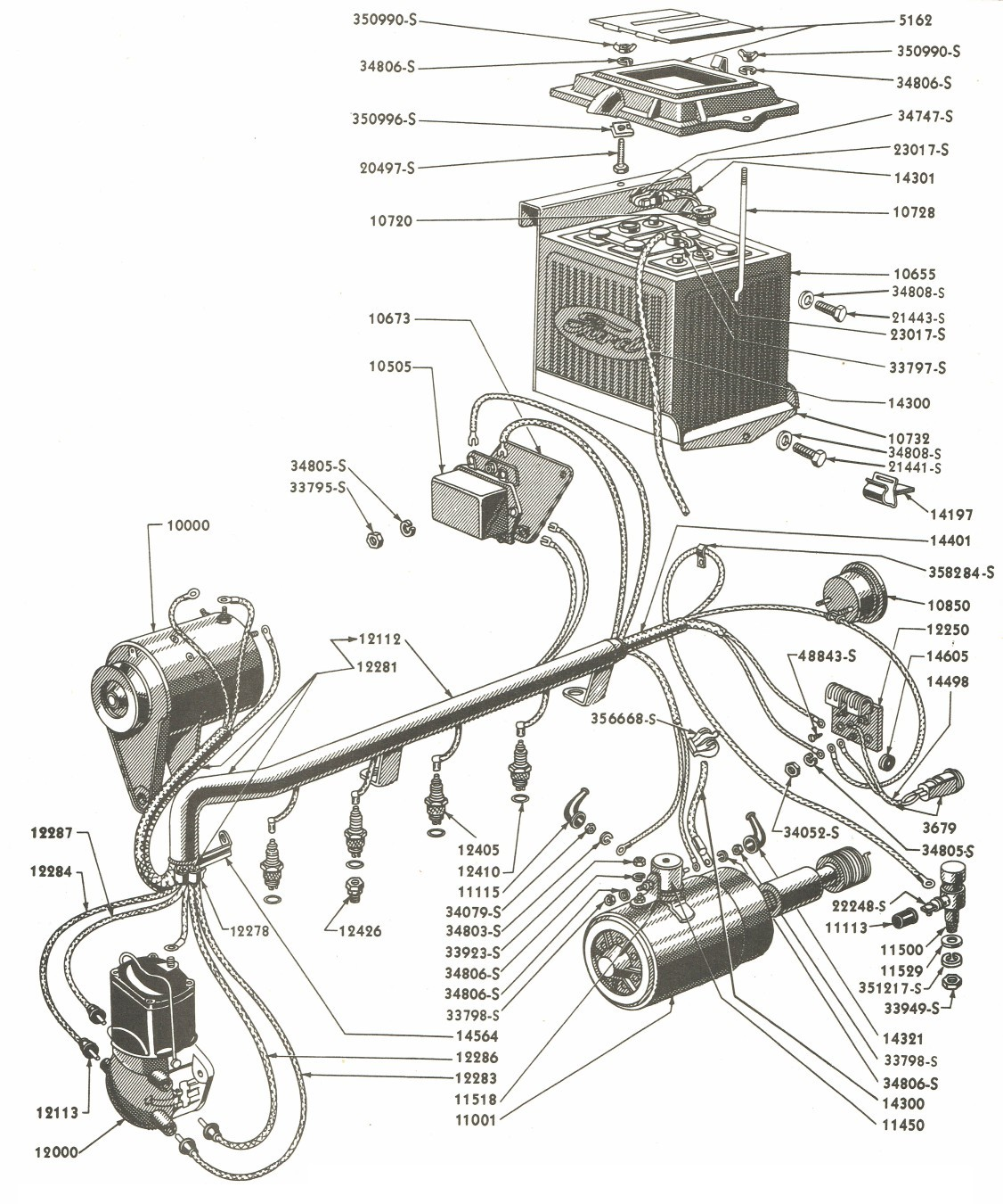 hight resolution of ford tractor wiring harness wiring diagram used ford 8n wiring harness diagram 12 volt 8n ford tractor wiring