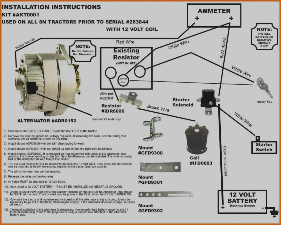 1949 Ford 8n Voltage Regulator Wiring | Wiring Diagram