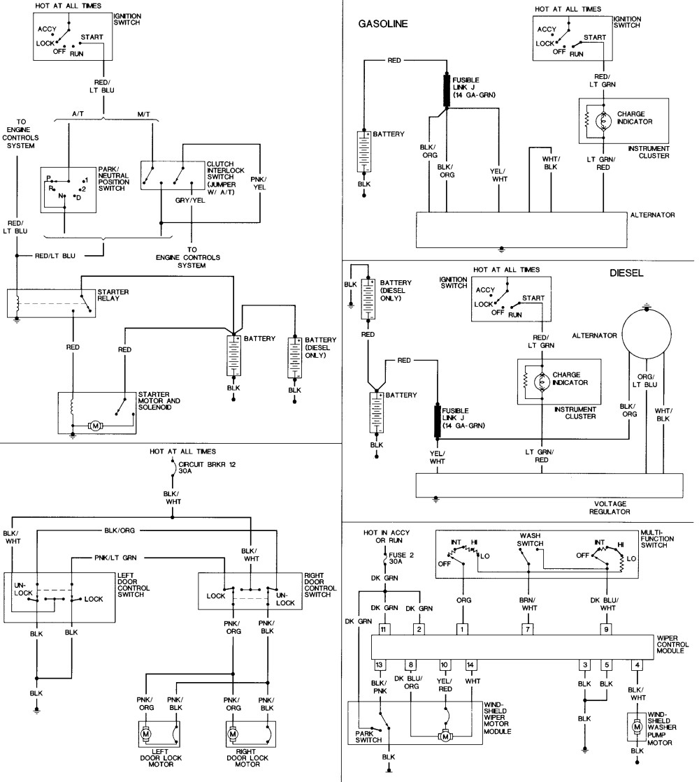 hight resolution of aod wiring diagram 1995 f250 data diagrams 2010 f350 fuse diagram wiring auto diagrams instructions pcm awesome chrysler town and country