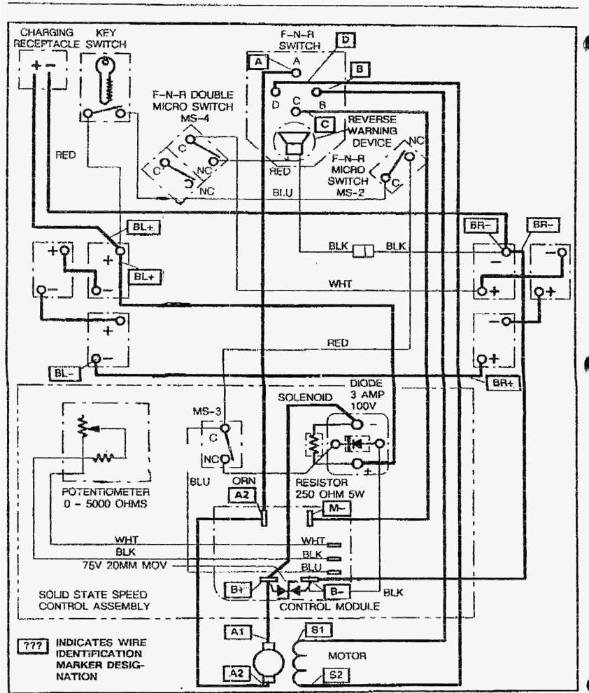 hight resolution of wiring diagram for 36 volt golf cart charger ez go with