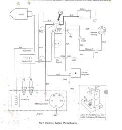 wiring diagram 1987 ez go golf cart [ 784 x 1024 Pixel ]