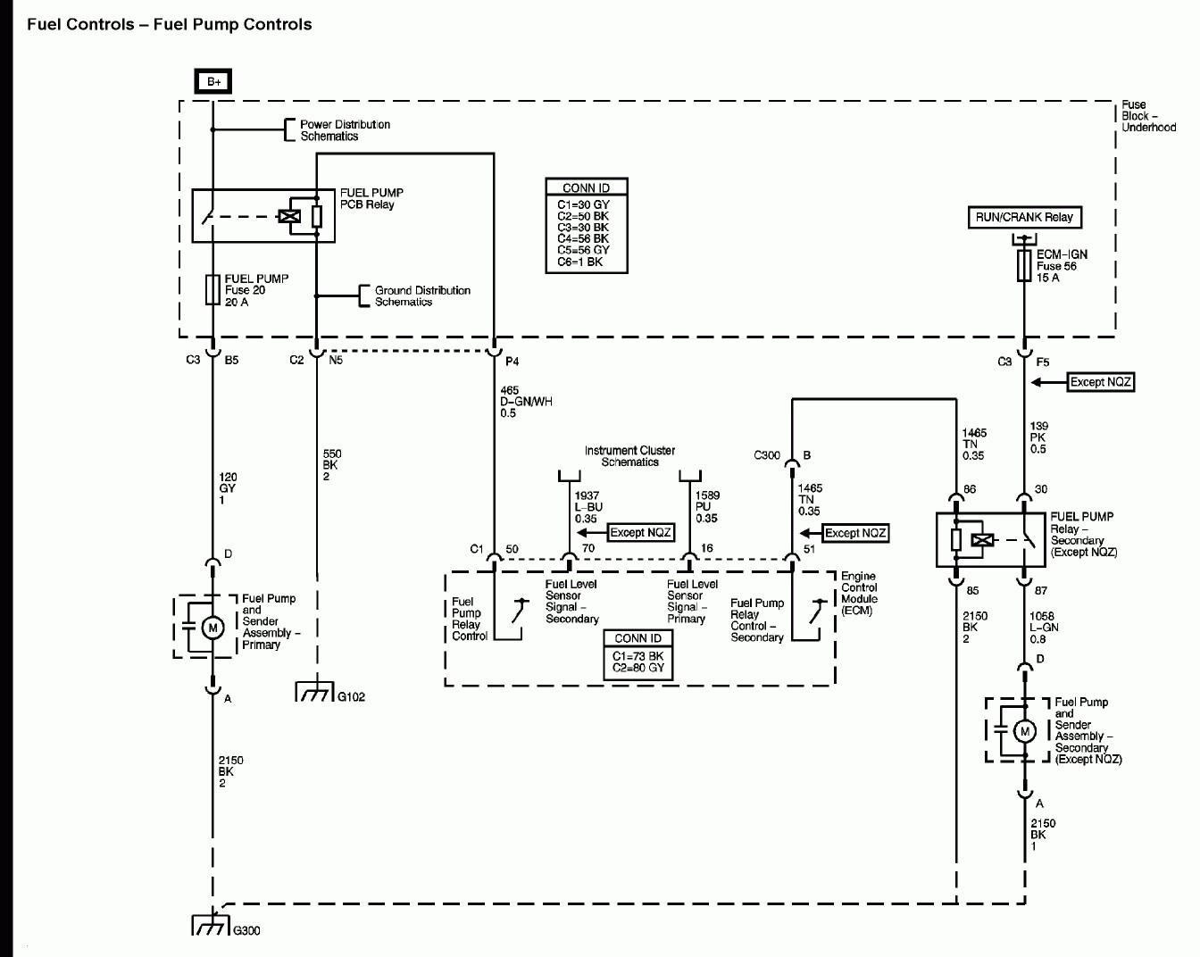 Fuel Gauge Sending Unit Wiring Diagram