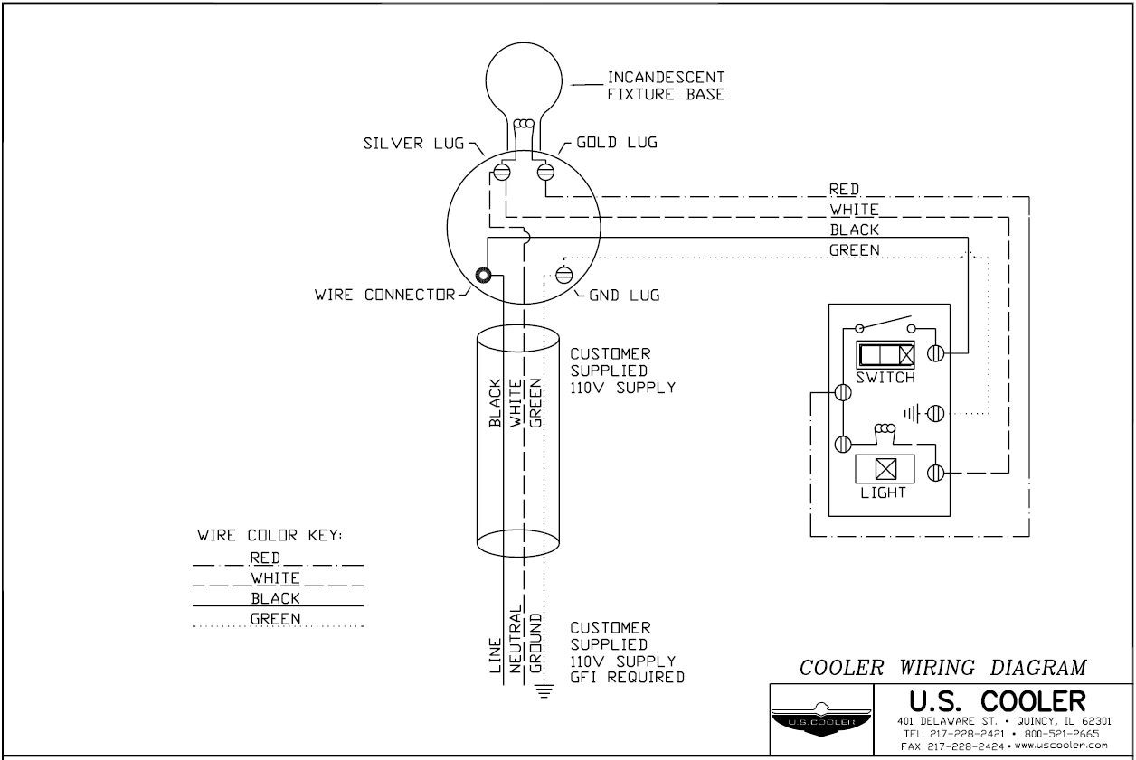 Wiring Diagram For Water Cooler