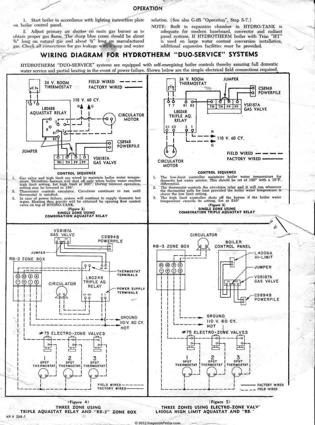 hight resolution of honeywell r845a aquastat diagram schematics wiring diagrams u2022 honeywell aquastat relay wiring honeywell r845a relay