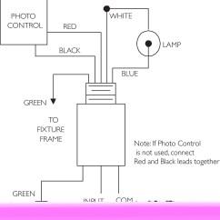 Lighting Ballast Wiring Diagram Nema L6 30 Cooper Ground