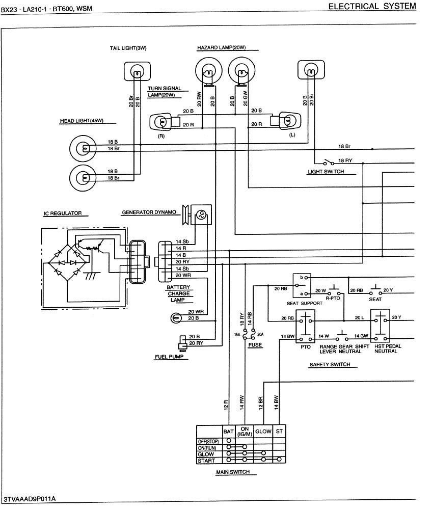 Kubota Rtv 1100 Electrical Schematic. Kubota. Wiring