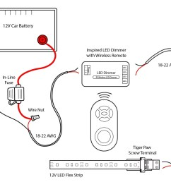 wiring diagram flashing led lights new 12v led strip wiring diagram wiring data [ 1650 x 1275 Pixel ]
