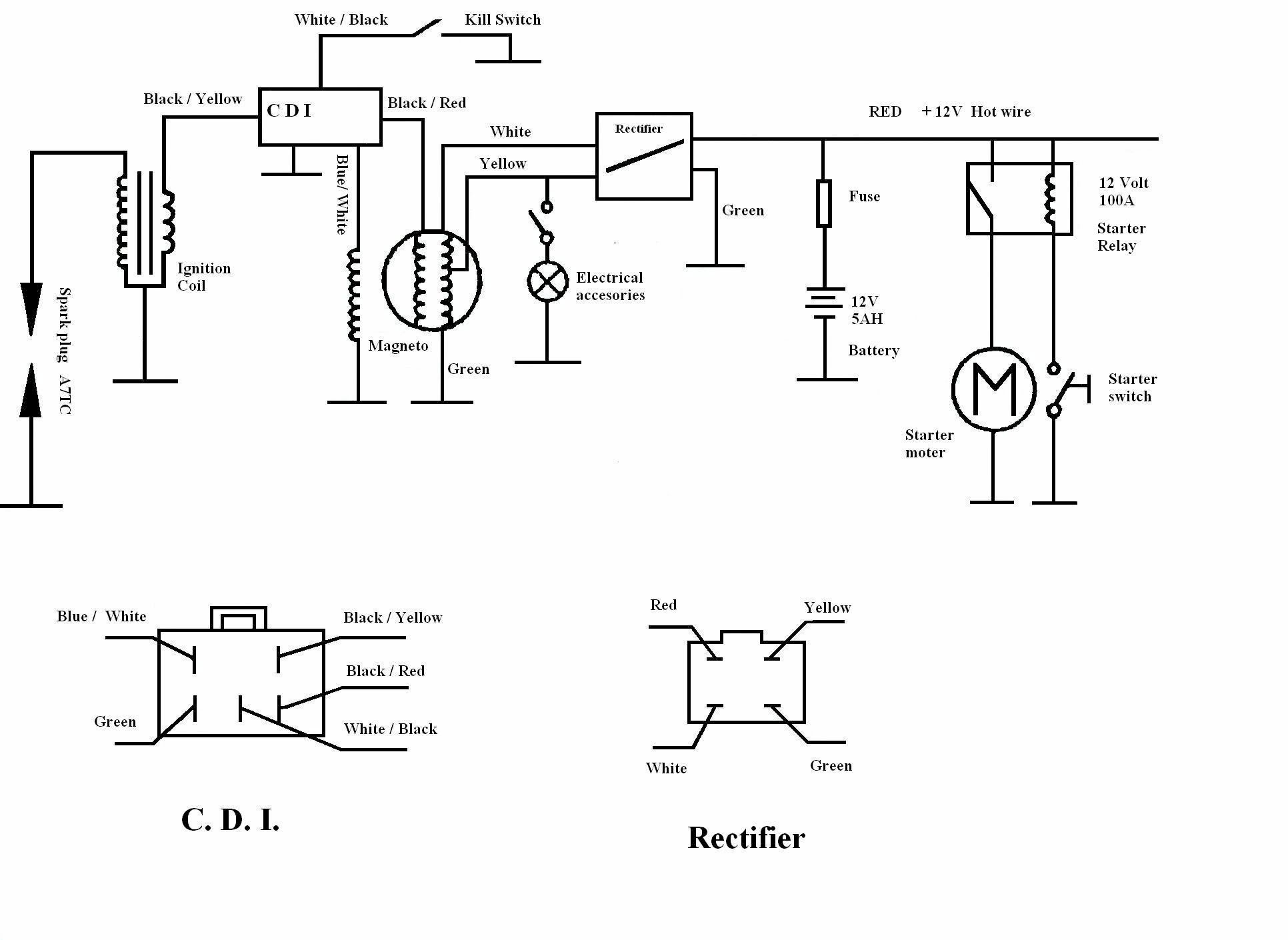Diagram On 150cc Engine Wire Wiring Harness Xr50 Crf50 Lifan Wh02 In on