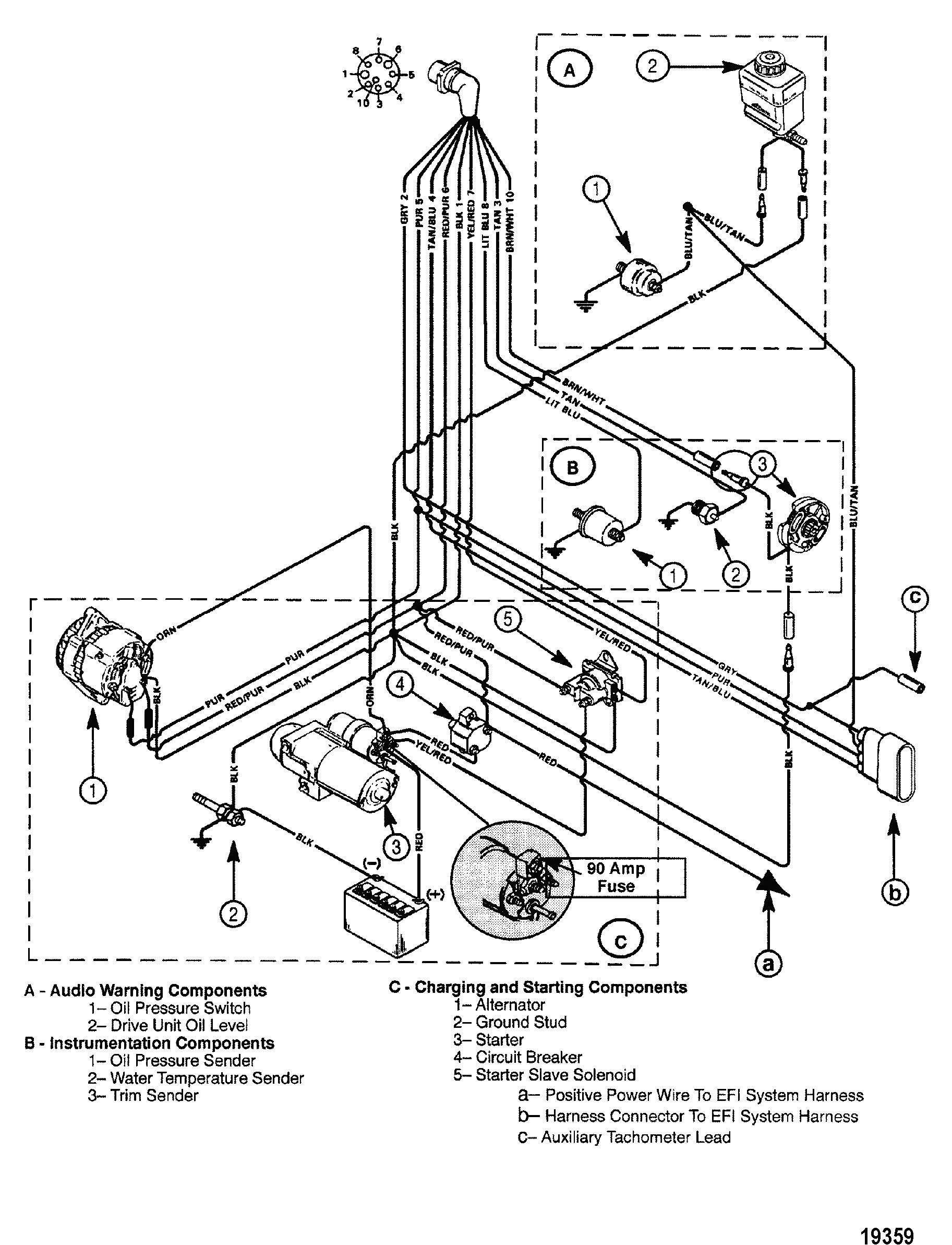 Mercruiser Wiring Schematic Diagram