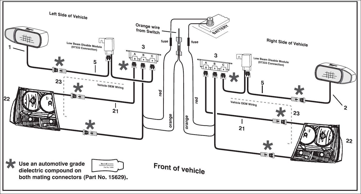 hight resolution of myers inverter wiring diagram wiring library rh homemsemprefitness com meyer plow light wiring diagram western plow wiring diagram ford