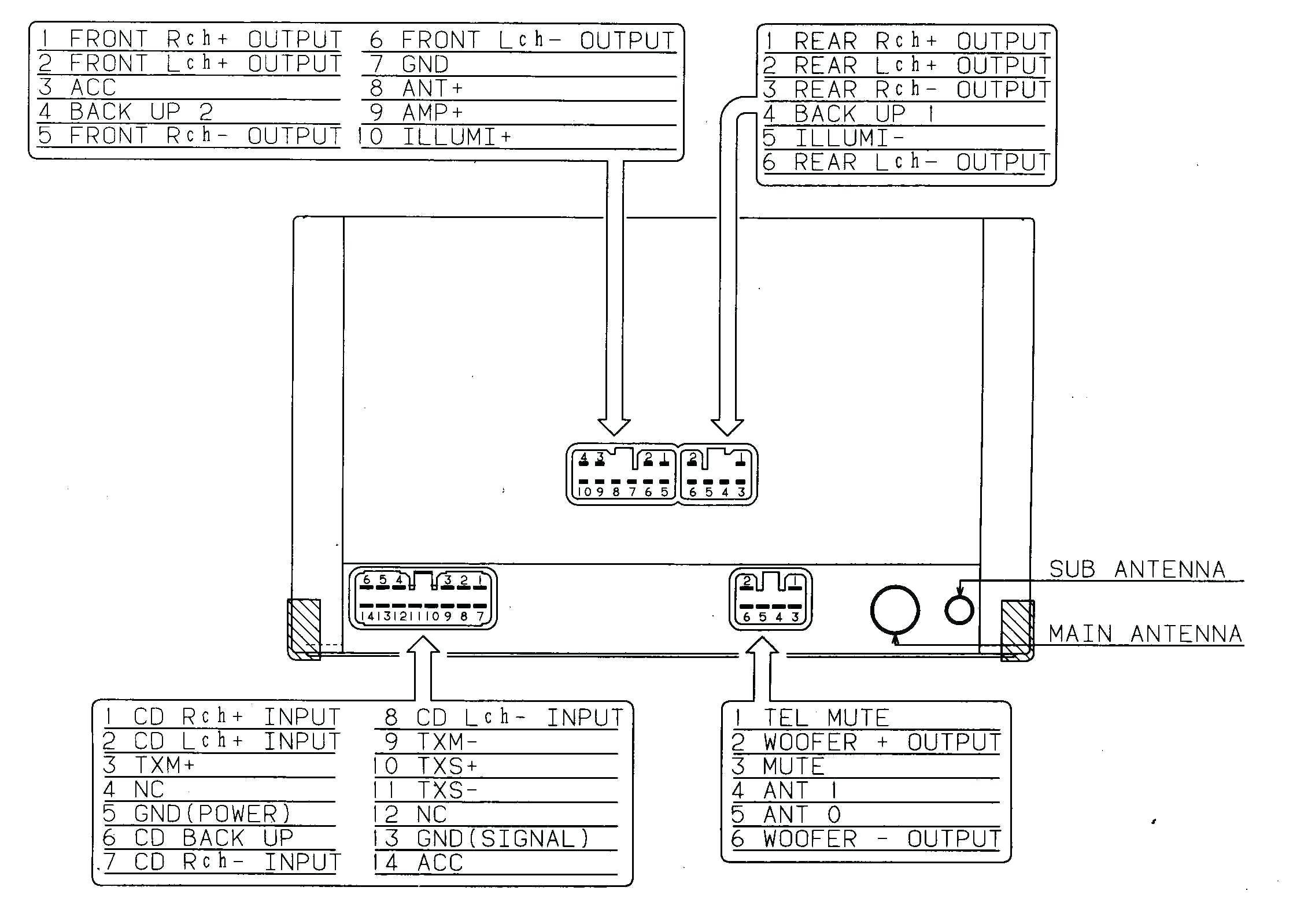 avh p5700dvd wiringnew pioneer avh p5700dvd wiring diagram wiring diagram  image pioneer avh p5200bt wiring diagram