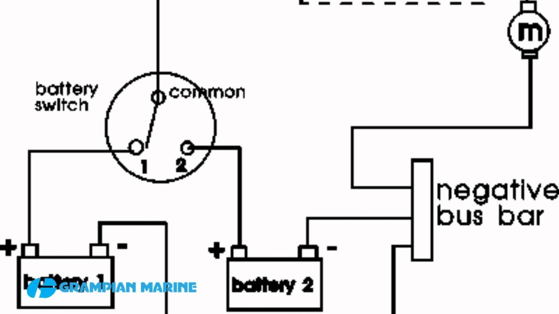 Rv Battery Disconnect Switch Wiring Diagram Awesome