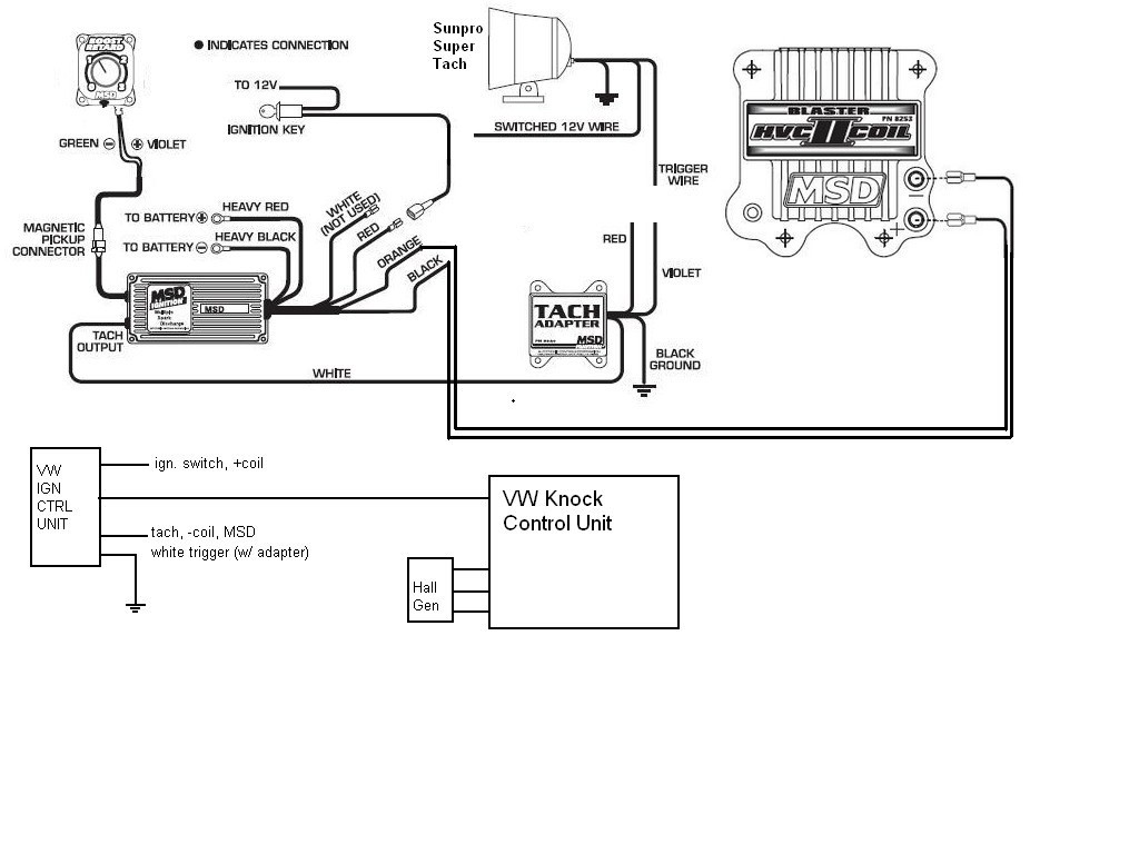 Sun Pro Tach Wiring Diagram Collection