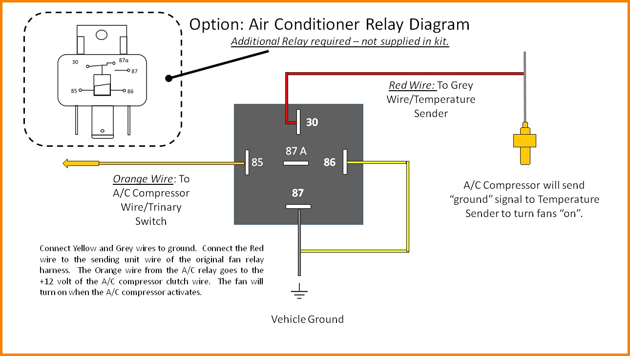 hight resolution of cooling fan relay wiring diagram elegant fan relay wiring diagram wiring trinary