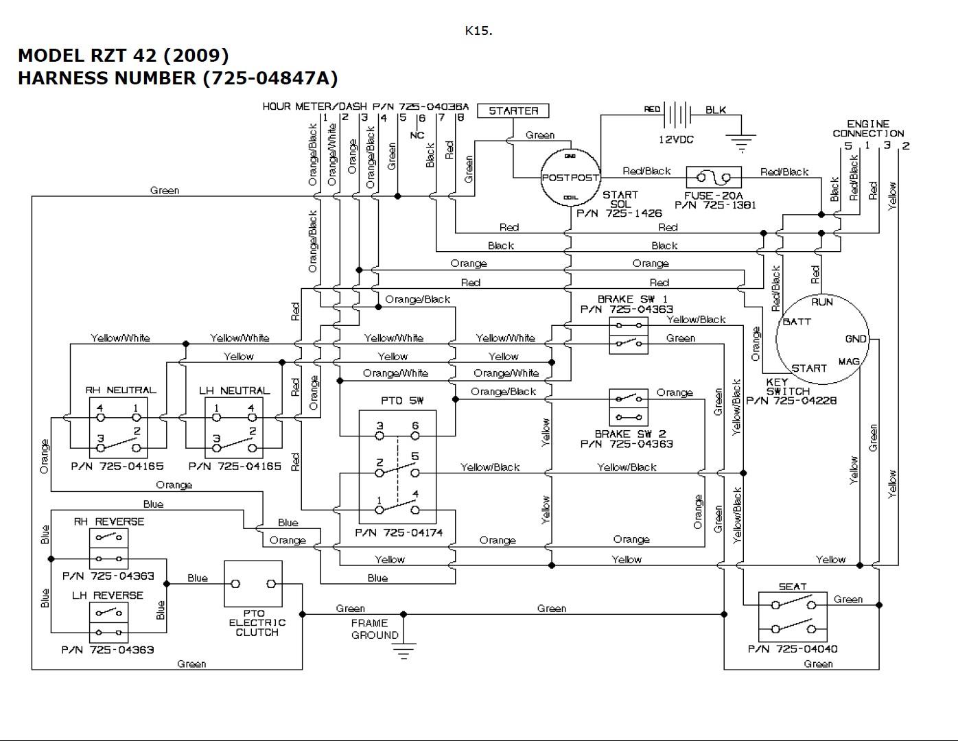 hight resolution of troy bilt solenoid wiring diagram basic wiring diagram u2022 rh rnetcomputer co troy bilt pony mower wiring diagram troy bilt pony 17 5 hp