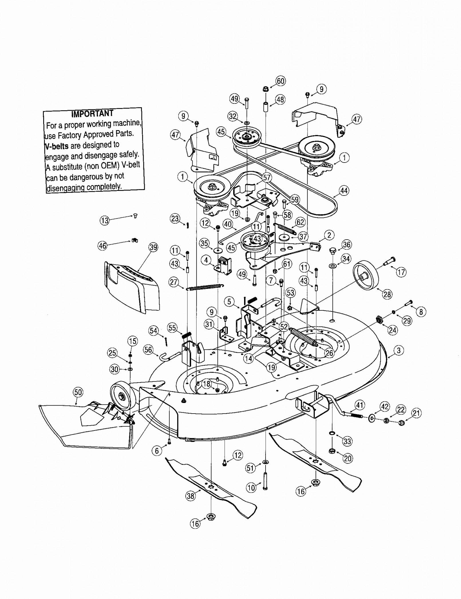 Wiring Database 2020: 26 Troy Bilt Drive Belt Diagram