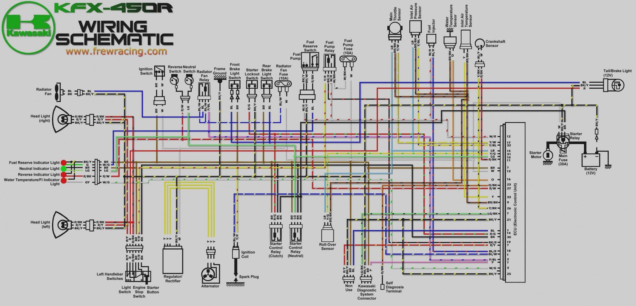04 Yfz 450 Wiring Diagram | Wiring Diagram Yfz Wire Harness on