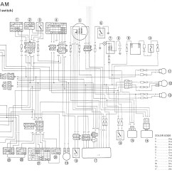 05 Yfz 450 Wiring Diagram 2000 Saturn Sl2 Radio Yfm Best Library Wire Residentevil