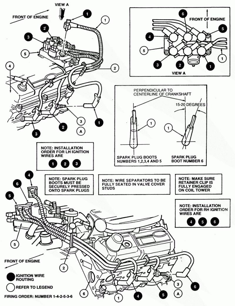 Unique 1997 ford F150 4.6 Spark Plug Wiring Diagram
