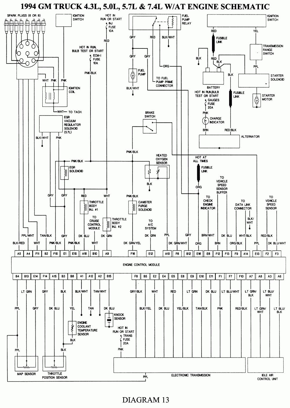 94 gm alternator wiring