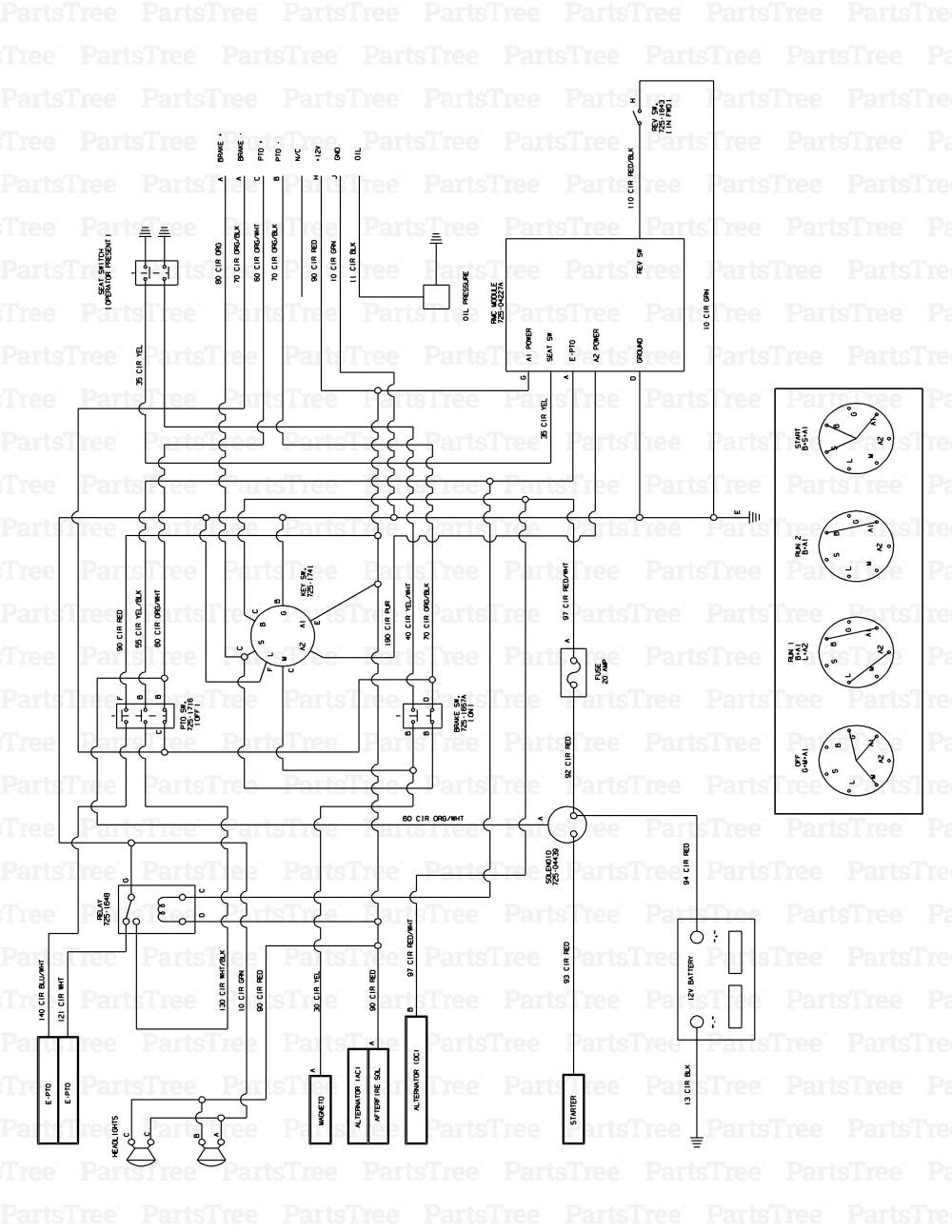 Cub Cadet 107 Wiring Diagram - Wiring Diagrams on