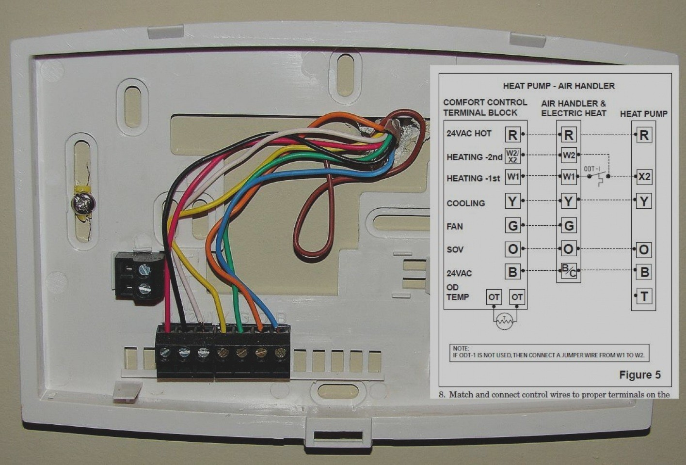 hight resolution of honeywell thermostat th5220d1003 wiring diagram electrical 7351 honeywell programmable thermostat wiring diagram