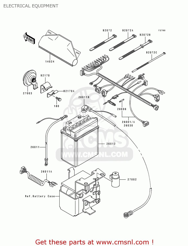 Kawasaki Bayou 250 Wiring Diagram