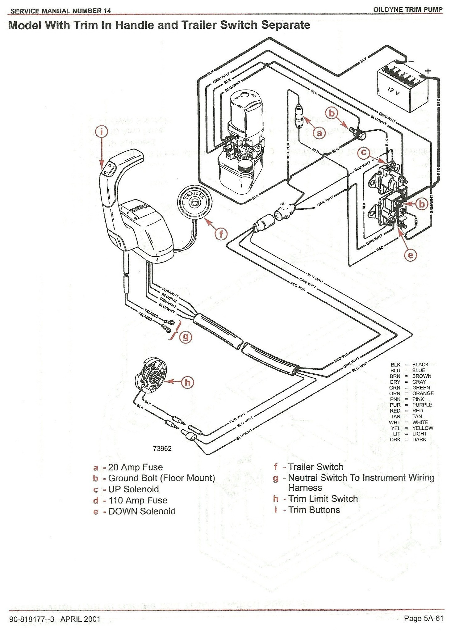 hight resolution of 2wire tilt trim motor wiring diagram