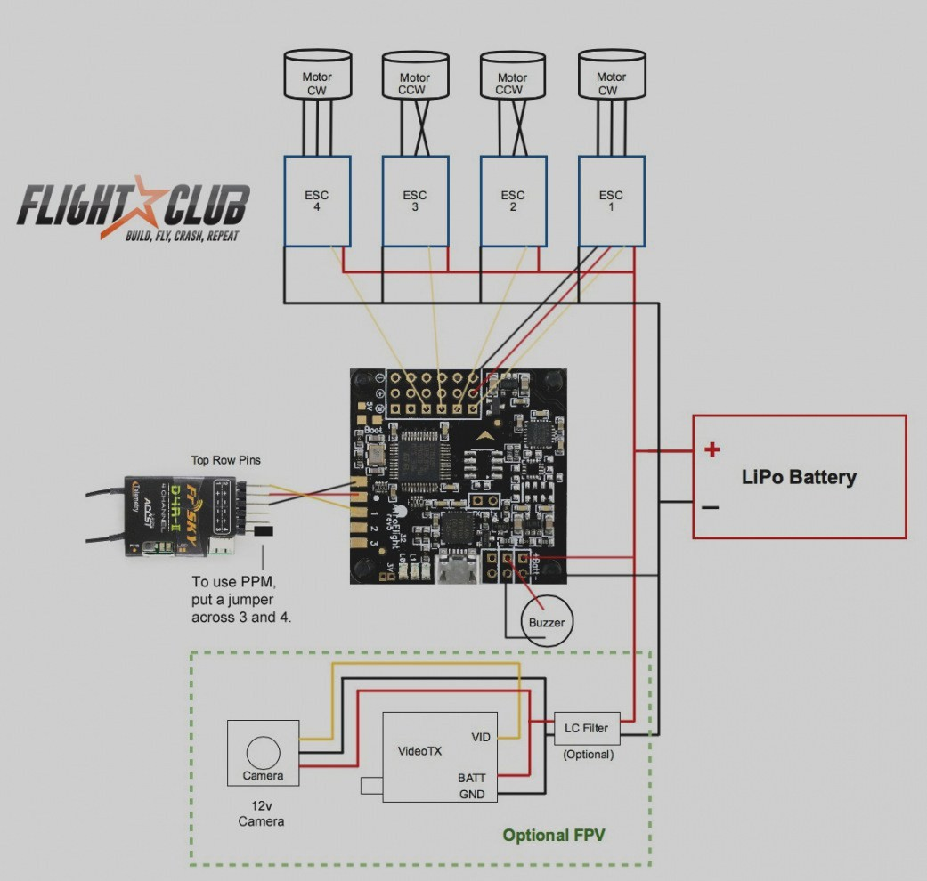 hight resolution of wiring diagram quadcopter quad motor valid beautiful schematic