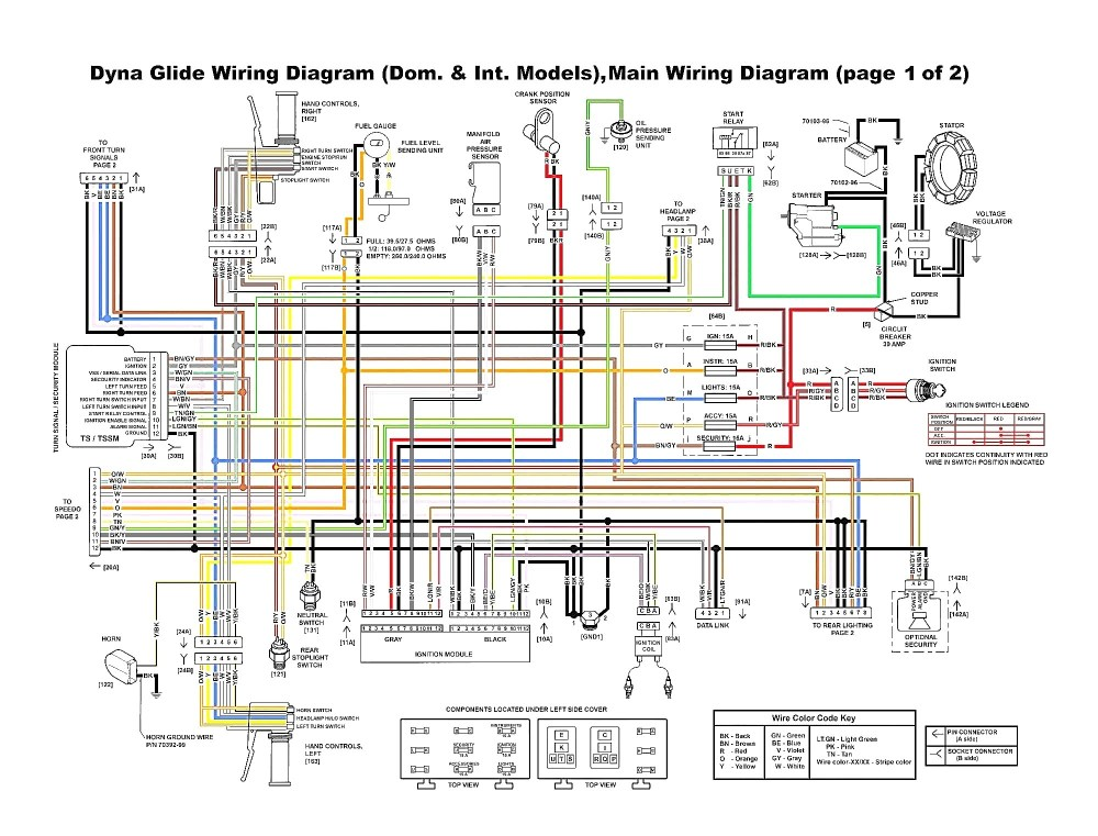 medium resolution of harley davidson wiring schematic schema diagram database harley davidson pulse ignition electrical schematics and wiring get