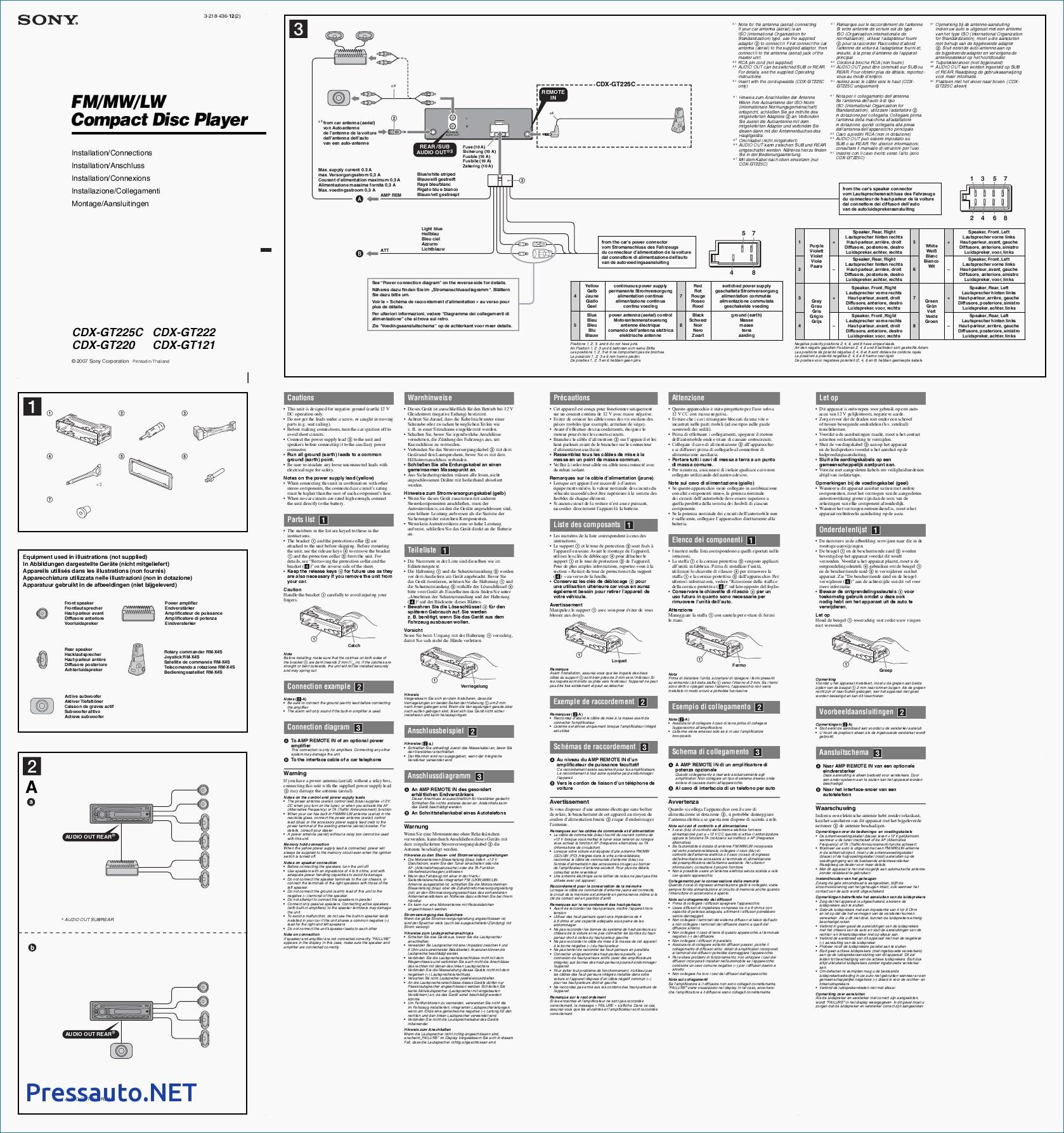 sony cdx gt570up wiring diagram