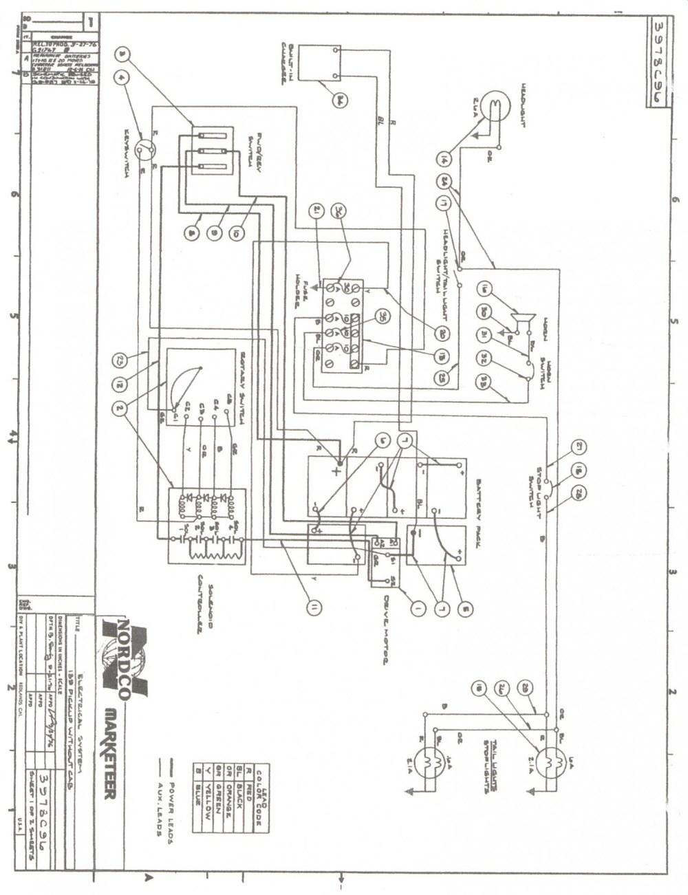 medium resolution of  ezgo golf cart wiring diagram 36 volt 1998 auto electrical wiring western golf cart wiring