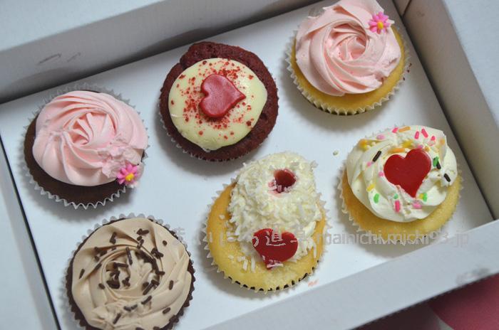 可愛らしいカップケーキ♡