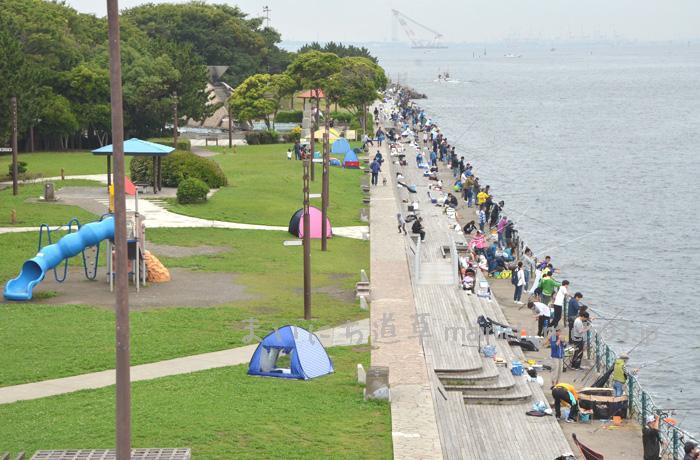 横須賀市・海辺つり公園