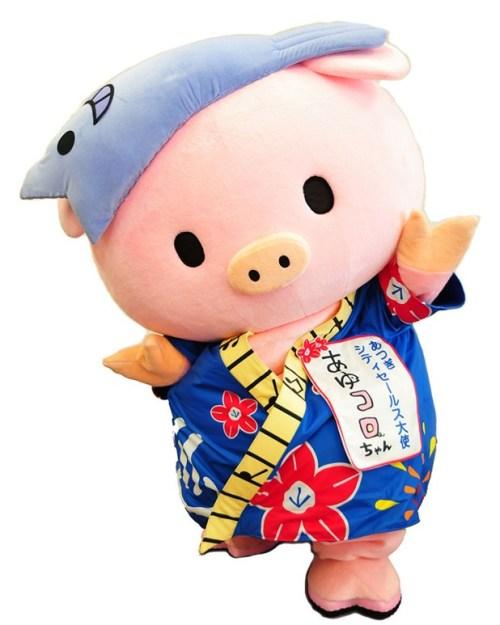 豚の体脂肪率・あゆころちゃん