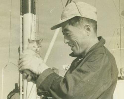 南極探査船 猫 たけし