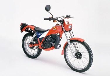 ホンダの50cc原付トライアルバイクTLM50とはどんなバイク?スペックやおすすめカスタムなど