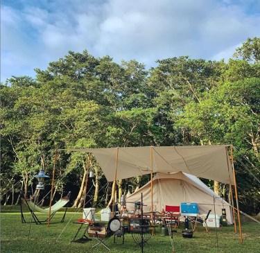 グリム冒険の森キャンプ場を本音レビュー!設備や施設をブログで紹介!周辺の温泉情報も!