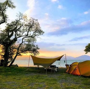 ソロキャンプにおすすめ!滋賀県の低料金で自然を満喫できる人気キャンプ場5選を紹介!