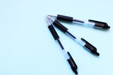 ボールペンのインクが出ない時の対処法!空気が入ってしまう原因と対策も紹介!