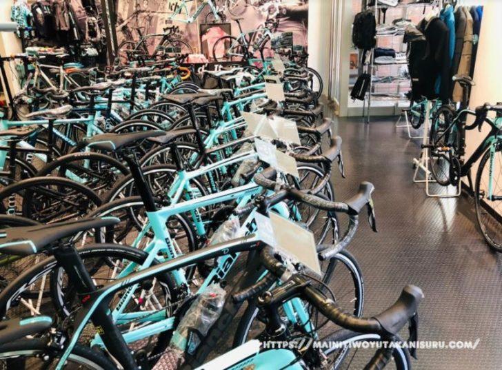ロードバイクを探す旅。横浜のビアンキさんへ
