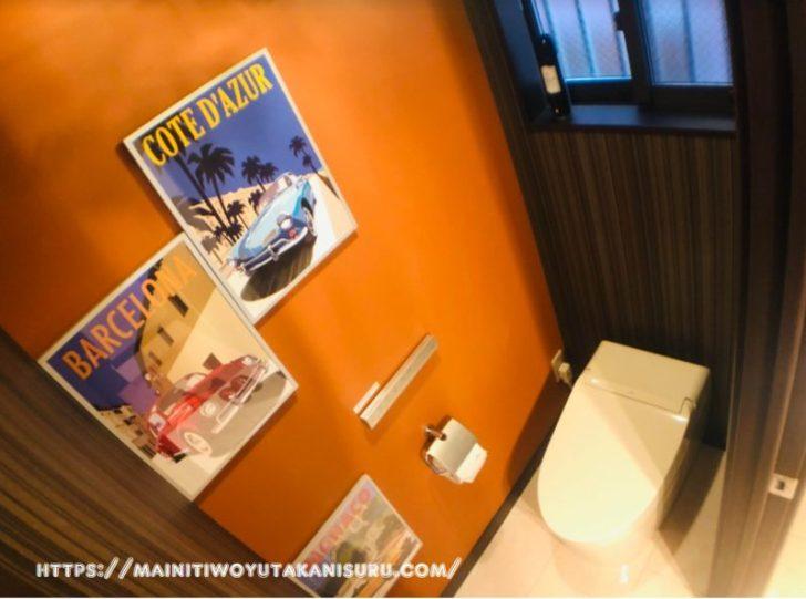 【入居後1ヵ月WEB内覧会】雰囲気のある1・2階トイレ