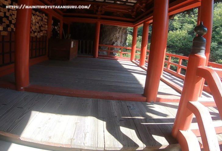 長野の観光地「布引観音」は激坂でした!