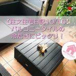 【注文住宅日記10/16】バルコニータイルの冷たさにビックリ!