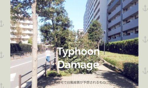 注文住宅で台風被害が予想されるもの