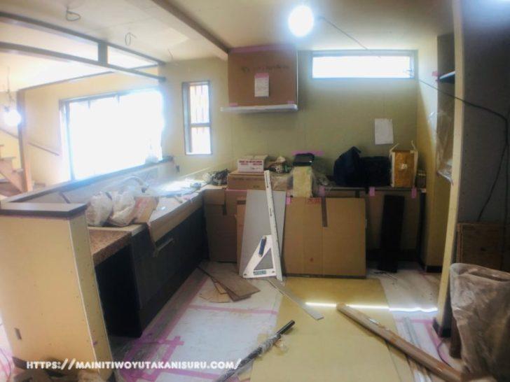 【工事中WEB内覧会】キッチンが完成するまでを振り返る