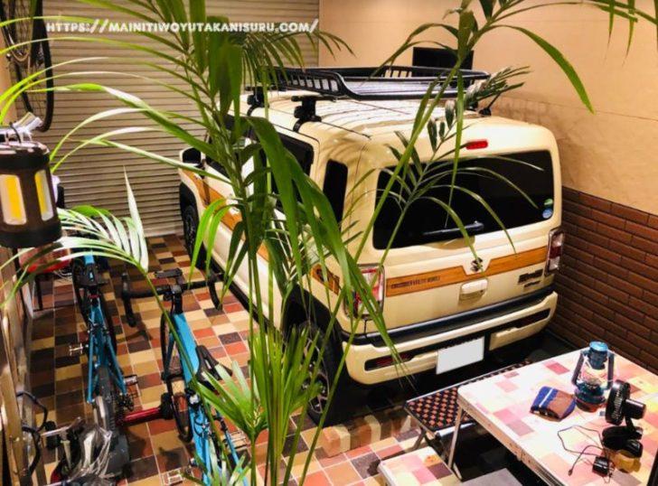 新型ハスラー(MR52)車内に載せる車中泊グッズを試し置き!スキマ収納も活用!