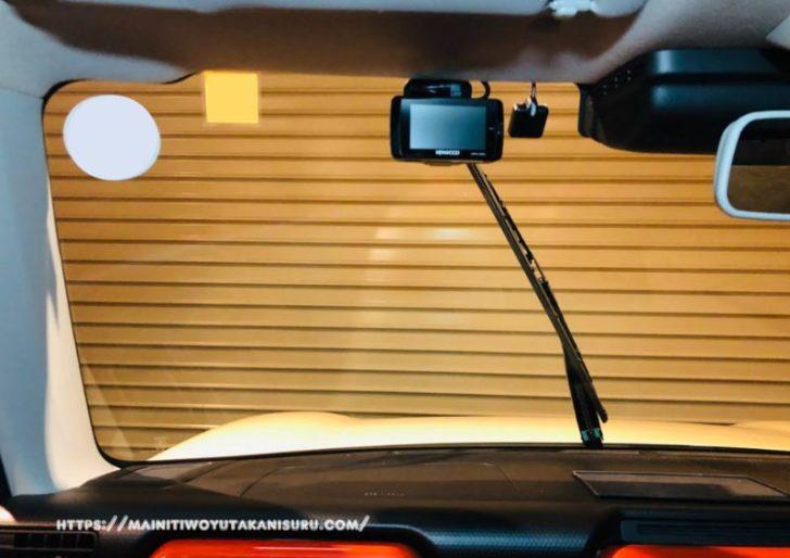 新型ハスラー(MR52)に駐車監視機能付きドライブレコーダー設置!